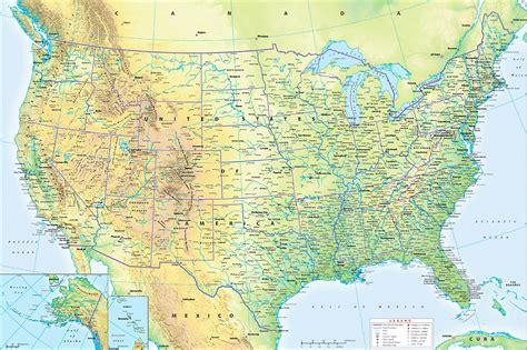 usa wall map customized wall maps