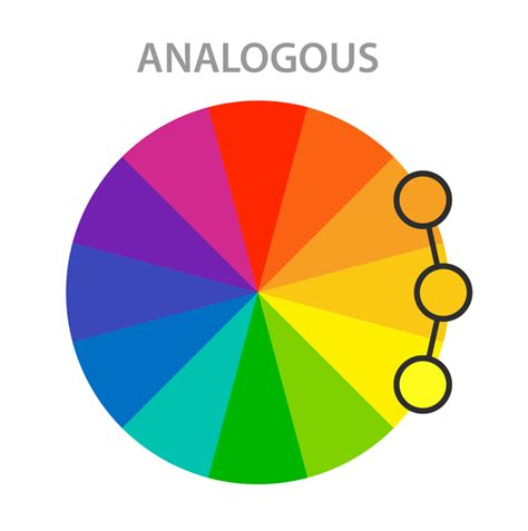 analogous color scheme the ultimate guide to basic color theory for all artists