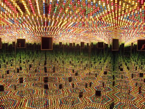 infinity room yayoi kusama immersed in yayoi kusama s lonely labyrinths and infinite