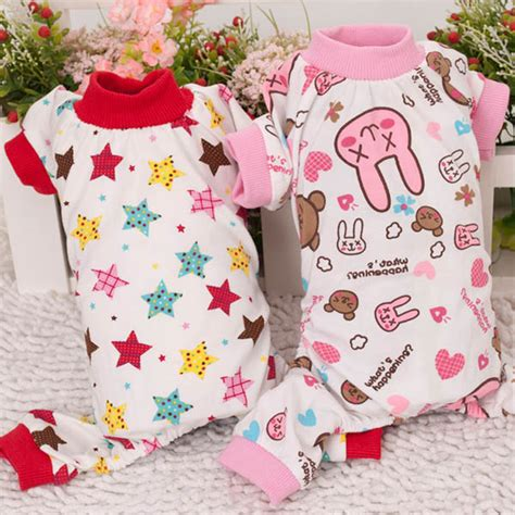Cat Pajamas Import Menjamin Kualitas puppy cozy rabbit t shirt apparel jumpsuit