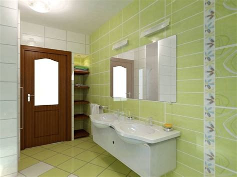Green Tile Bathroom Ideas Green Tile Bathroom In Bathroom Tile Design Ideas On Floor Tiles Design About
