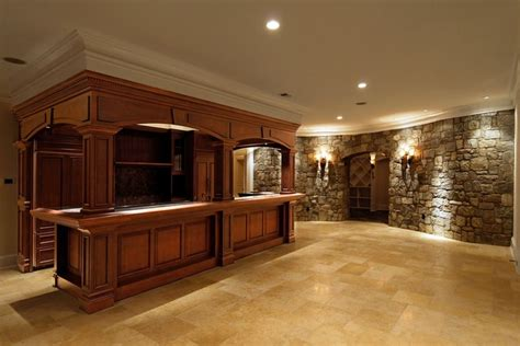 Residential Bars Residential Bars Traditional Basement Dc Metro By