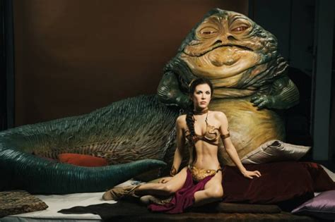 google images jabba the hutt madame tussauds unveils star wars waxworks jabba and