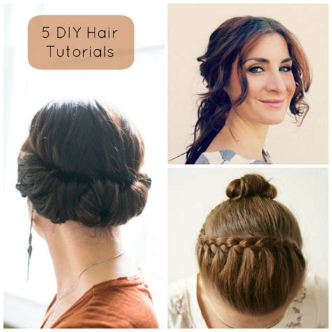 cute hairstyles put up diy hair 5 tutorials 187 hill city bride virginia