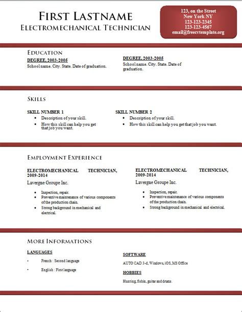 word resume templates 2014 free search results for curriculum vitae template word calendar 2015