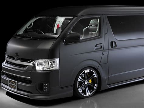 Vans Import Quality toyota hiace new 2017 model in japan import diesel