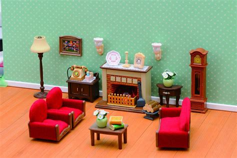 sylvanian families luxury living room set buy sylvanian families luxury living room set