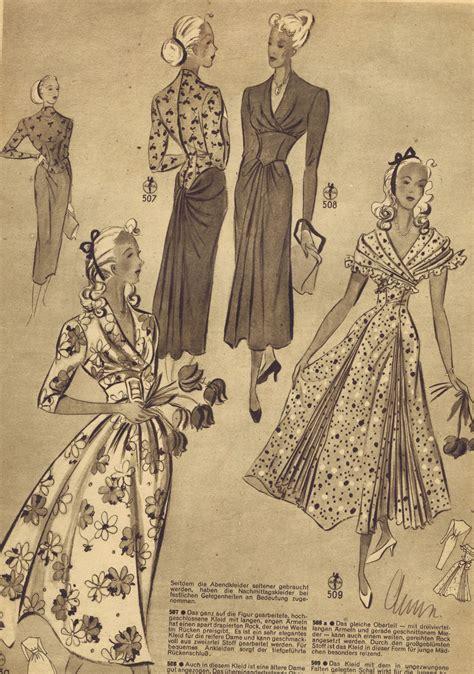 pattern vintage dress free free vintage 1940s sewing patterns german die alma mode
