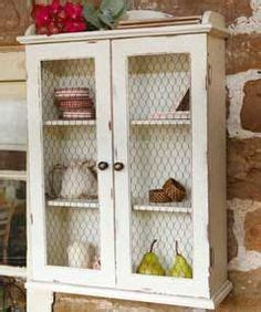 how to put chicken wire on cabinet doors add chicken wire on pinterest chicken wire pie safe and