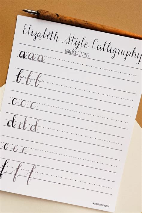 calligraphy handlettering for beginners beginner practice workbook for lettering and modern calligraphy with more than 40 different lettering fonts books modern calligraphy practice worksheets lowercase letters