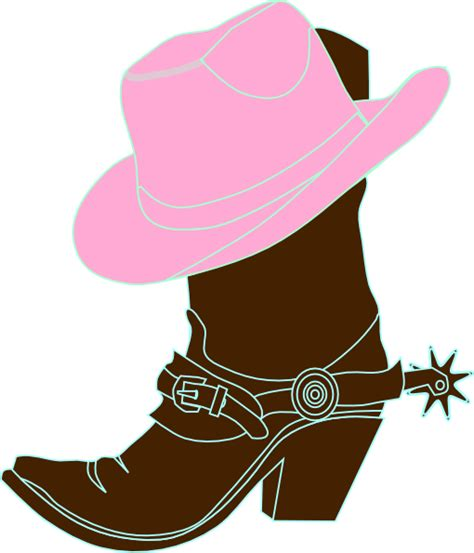 cowgirl boot  hat clip art clip art girls clipart cowgirl hats hats cowgirl party