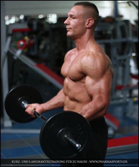 effektives muskeltraining zu hause effektives mit kurz und langhantel f 195 œr zu hause