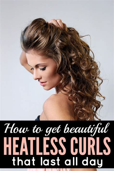 How To Curl Short Heatless | how to get beautiful heatless curls that last beautiful