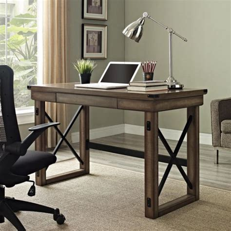 better homes and gardens rustic country desk weathered pine finish best 25 rustic computer desk ideas that you will like on