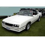 1986 Chevrolet Monte Carlo  Information And Photos
