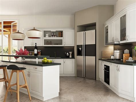 simple white kitchen cabinets oppein simple european style of white kitchen cabinet