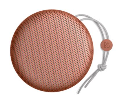 Olufsen Bluetooth Speaker Beoplay A1 Tangerine gent s g s timeless products door delivered