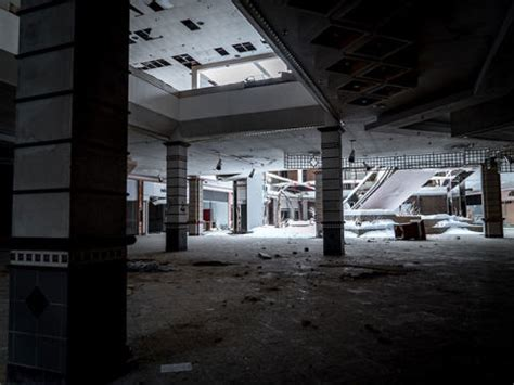 haunting photos of a deserted mall that is now covered in photos of abandoned rolling hills mall johnny joo