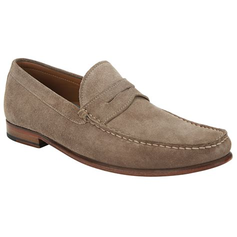 lloyd loafers lewis lloyd suede loafers for lyst