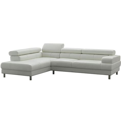 white leather l shaped couch 17 best ideas about leather sectional sofas on pinterest
