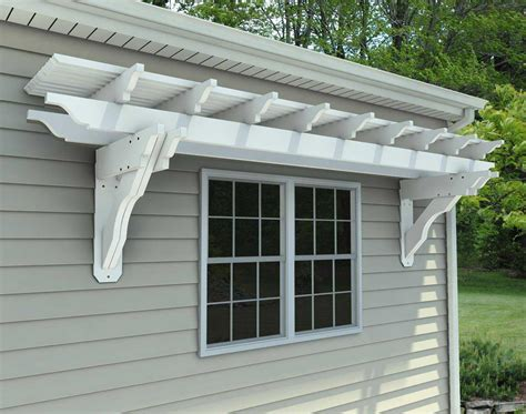 vinyl attached pergola kits pergola design ideas