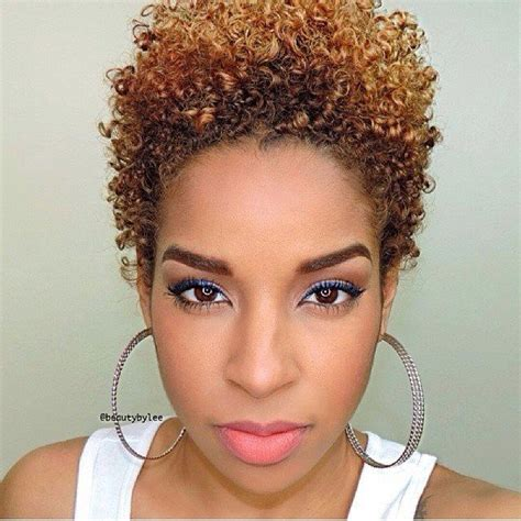 short natural haircuts and color ombr 233 twa hair pinterest love and i love