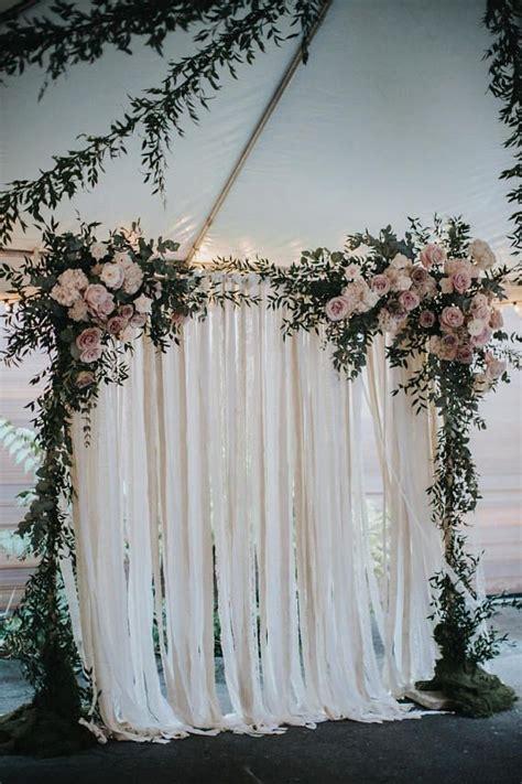 cotton lace wedding backdrop fall wedding decorations
