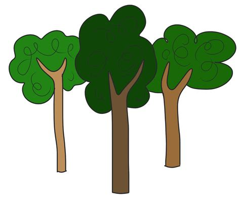 clipart tree trees clipart clipground