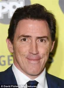 rob brydon hair weave all got hair with the x factor louis daily mail