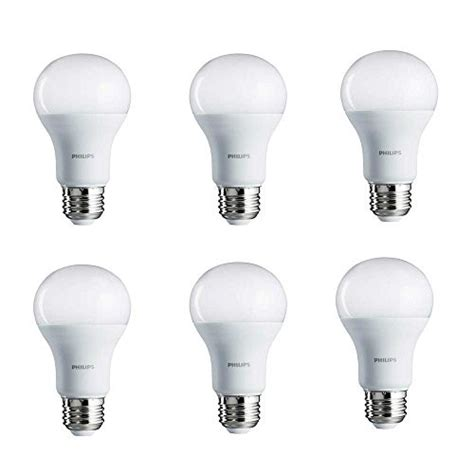 Philips Led Light Bulb A19 Daylight 100 We 6 Ct Jet Com Philips 100 Ct Remains Lit