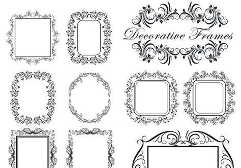 cornici gimp decorative frame brushes free photoshop brushes at