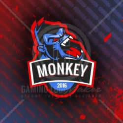 Gaming Templates by Monkey Clan Logo Template Gaming Logo Maker Gaming