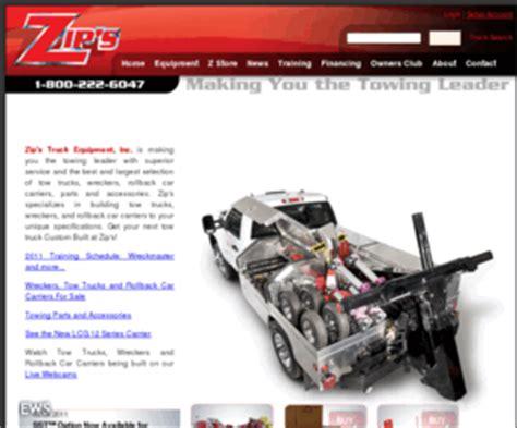 zipscom zips truck equipment wreckers tow trucks