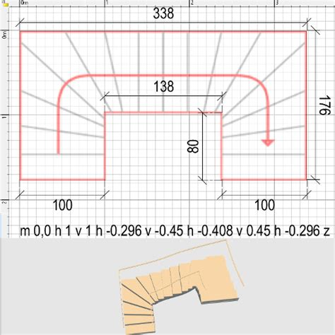 how to customize staircases sweet home 3d blog sweet home 3d 3d models 414 staircase u shape