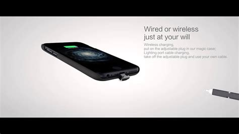 nillkin iphone  pluss magic case qi wireless
