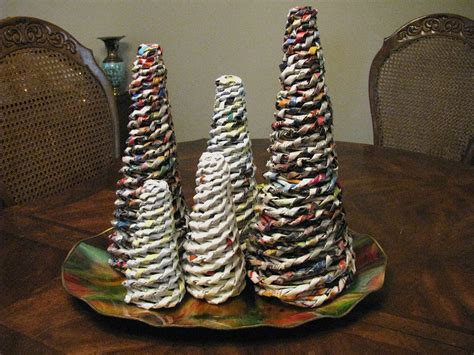 How To Make Rolled Paper - rolled paper trees