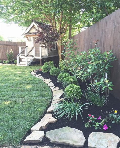 backyard trees landscaping ideas best 25 fence landscaping ideas on privacy
