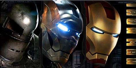 evolution iron mans armor