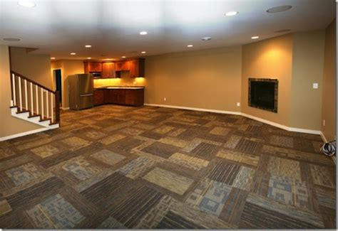 20 gorgeous basement flooring ideas