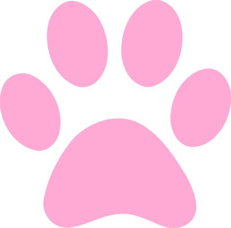 panther paw print clip clipart best clipart best gallery for gt pink panther paw print clip clipart