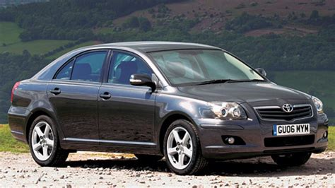 Toyota Avensis Top Gear Road Test Toyota Avensis 2 2 D 4d T180 4dr 2006 2008