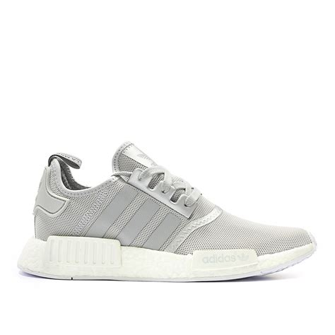 Sepatu Adidas Nmd Runner Grey White adidas originals nmd r1 runner boost womens grey white