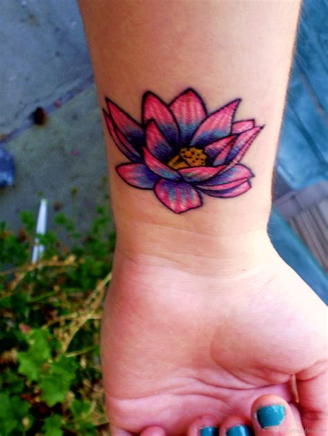 pictures of flower tattoos on wrist flower on wrist designs pictures