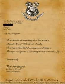 Acceptance Letter From Hogwarts School Of Witchcraft And Wizardry Hogwarts Acceptance Letter Template E Commercewordpress