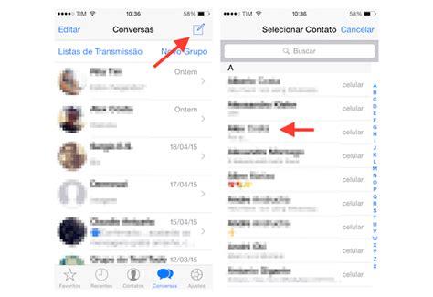 novo layout whatsapp iphone como editar o nome de exibi 231 227 o de contato do whatsapp para