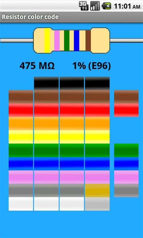 resistor colour code tool apps