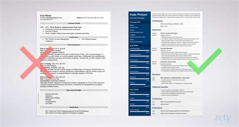 Account Manager Resume by Account Manager Resume Sle And Writing Guide 20