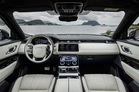 land rover inside view first drive 2018 range rover velar