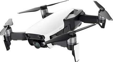 dji mavic air quadcopter mini drone arctic white combo