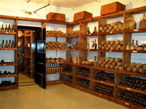 Home Workshop Design Layout hearst castle wine cellar and vault